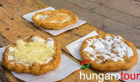 Receta de Lángos : Gastronomia :: HungaroTour