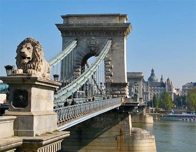 El Puente De Las Cadenas Budapest Hungarotour